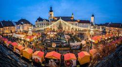 Inaugurarea Targului de Craciun 2017 din Sibiu