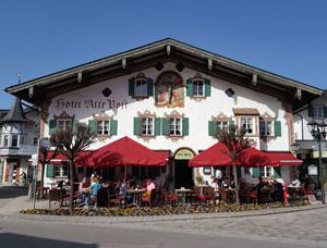 Casele pictate din Oberammergau, Bavaria