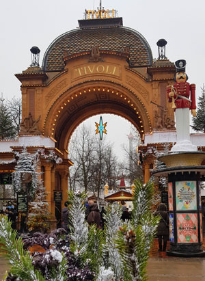 Tivoli Gardens din Copenhaga