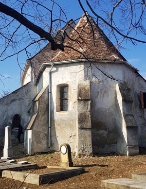 Biserica fortificata din Daia, Sibiu
