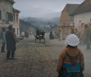 Reclama Mercedes Benz filmata in Sibiu