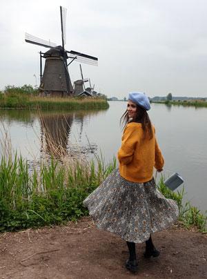 Morile de vant de la Kinderdijk
