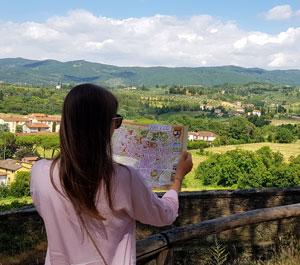 Arezzo, un vechi oras etrusc din Toscana