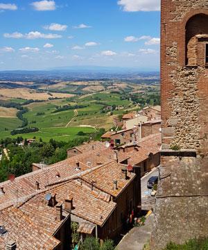 Montepulciano, orasul cetate din Toscana