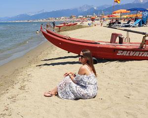 Plaja in Toscana - Viareggio