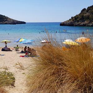 Plaja Omega din Peloponez – Voidokilia