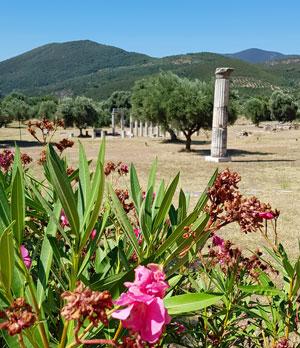 Situl arheologic Messini din Peloponez