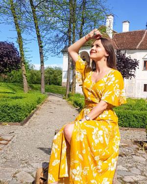 Sunny days. Sunny dress by Bonprix